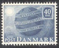Denmark 1949 Universal Postal Union/UPU/Globe/Communication 1v (n37373)