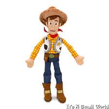 "Disney Store Sheriff Woody Plush Soft Doll Toy Story 3 Size 18"" NWT"