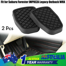 2x Brake Clutch Rubber Pedal for Subaru Forester IMPREZA Legacy Outback WRX