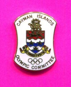 1984 OLYMPIC PIN CAYMAN ISLAND NOC PIN GOLD TURTLE PIN