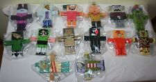 2007 CARTOON NETWORK BLOCKHEADS BLOX LOT OF 14 RARE COLLECTIBLE FIGURES