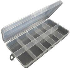 HAWK TJ8710 - 10 Compartment Plastic Bead Craft Small Parts Fishing Storage Box
