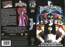SPANISH VIDEO SLEEVE - POWER RANGERS LA PELICULA - FOX VIDEO LABEL