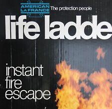 2 Story Instant Fire Escape 15 Foot Emergancy Life Ladder Lightweight Aluminum