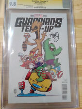 GUARDIANS TEAM UP #1 MARVEL VARIANT - CGC 9.8 - SS - SKOTTIE YOUNG