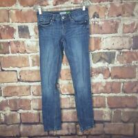 Aeropostale Bayla Skinny Womens Jeans Juniors Size 1/2 Distressed 31 Inseam