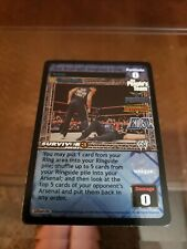 WWE Raw Deal CCG The Rock Hogan Edge Your Brush With !! FREE SHIPPING !!