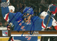 Marc Staal Autographed Auto 2012 Upper Deck New York Rangers Card - NHL - COA