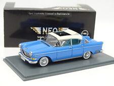Neo 1/43 - Opel Kapitan 2.5L Bleue