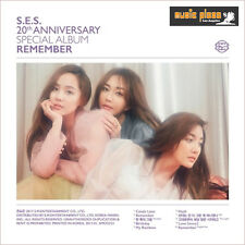 S.E.S SPECIAL ALBUM [ REMEMBER ] CD+BOOKLET KPOP SES US SELLER