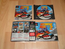 DESTRUCTION DERBY 2 DE PSYGNOSIS PARA LA SONY PLAY STATION 1 PS1 EN BUEN ESTADO