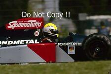 Andrea Chiesa Fondmetal GR02 F1 Season 1992 Photograph