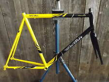New-Old-Stock Bertin Frame and Fork (57 cm) w/Butted Steel Tubes...Black/Yellow