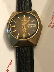 VINTAGE SEIKO AUTOMATIC 17 J. 6309-7009 MEN'S WATCH JAPAN