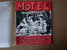 Rare Fanzine BD MOTEL 5 Bing Henriette Valium Poupart Wells Daponte