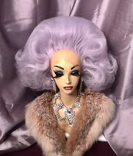 SUPERBE MAIN STYLE LILAS Lace Front Drag Queen Perruque