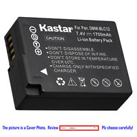 Kastar Replacement Battery for Panasonic DMW-BLC12 & Panasonic Lumix DMC-G7