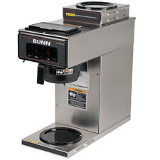 Bunn 13300.0002 Coffee Maker w/ 2 Warmers Low Profile Pourover Stainless