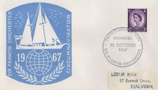 Sir Francis CHICHESTER 1967 Voyage autour du monde FIRST DAY COVER-Barnstaple