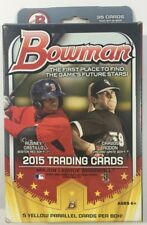 2015 Bowman Baseball Hanger Box Retail - Sealed - Qty Avail - 5 YELLOW Parallels