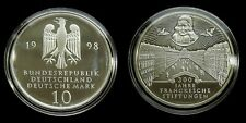 """Germany - 10 Mark 1998 """"G"""" Proof ~ The Francke Foundations in Halle, silver"""