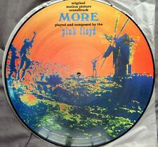 "Pink Floyd ‎– MORE- Picture disc From The Film ""More"" Lp Vinyl (Muy Raro)"