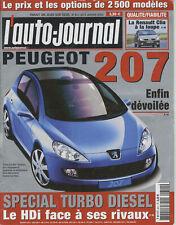 L'AUTO JOURNAL n°611 AUDI A8 4.2 BMW 740D ALFA 147 GTA/VW GOLF R32 HONDA NSX