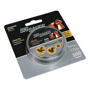 Sig Sauer .177/4.5 mm Copper Coated Airgun pellets (500) Free P & P
