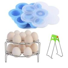 Instant Pot Accessories, Silicone Egg Bites Molds and Stackable Egg Steamer Rack