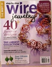 The Best Of STEP BY STEP WIRE JEWELRY Magazine 40+ FAVORITE DESIGNS $15