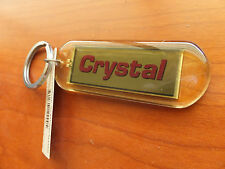 Crystal, Jacqueline Blinking Solar Power Keychain, Key chain