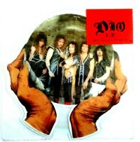 Near Mint! THE DIO EP Hide In The Rainbow THE SHAPED VINYL PICTURE PIC DISC EX
