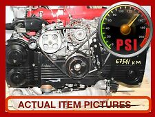 JDM SUBARU WRX STI  EJ207 DOHC MOTOR JDM EJ20 WITH VF37 TWIN SCROLL TURBO ENGINE