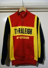 VINTAGE TI RALEIGH McGREGOR Cycling Jersey 1970s Small/Medium **EROICA !**
