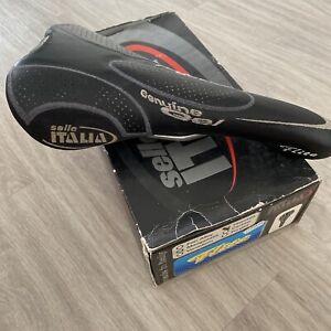 Selle Italia Flite Titanium Guenine Gel - Rails Titane - Saddle Vélo Route Retro