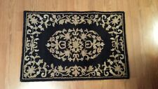 Used Safavieh Heritage Black 2' x 3' Wool Pile Rug 640-B