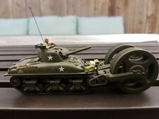 1:72 Forces of Valor WWII M4 Sherman T1E3 Mine Roller US Army