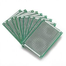 10pcs Double Side Prototype PCB 5x7cm Tinned Universal Board Development Plate