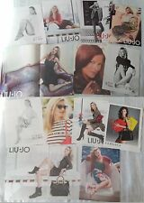 KATE MOSS_LIU-JO_WEITZMAN_VERSACE_VOGUE_2012-2014_original clippings/advertising