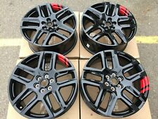 "** 20"" CHEVY BLAZER 2019 2020 OEM REDLINE RED LINE WHEELS RIMS SET NEW 5849 5898"