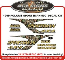 1999 POLARIS  Sportsman 500 4X4 Decal kit  reproductions
