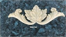 Leaf Furniture Centre Piece Resin Onlay Carving Drawers Doors Scroll not Wood