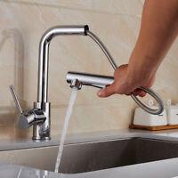 Spültisch Wasserhahn Armatur Küchenarmatur mit ausziehbar Brause Einhandmischer