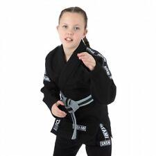Tatami Kids Dweller BJJ Gi Black Brazilian Jiu Jitsu Uniform Kimono GI Youth