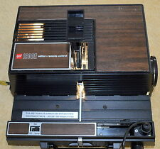 VINTAGE GAF 1600E EDITOR REMOTE CONTROL PROJECTOR MADE IN USA