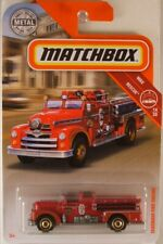 MATCHBOX #55 Seagrave Fire Engine, 2019 issue (NEW in BLISTERPACK)