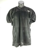 Rawlings Black Mesh Football Jersey Adult  ACAFJPR1 New Pro-Cut