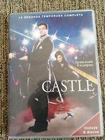 CASTLE SEGUNDA TEMPORADA 2 COMPLETA - 6 DVD ESPAÑOL ENGLISH FRANCAIS - 5T