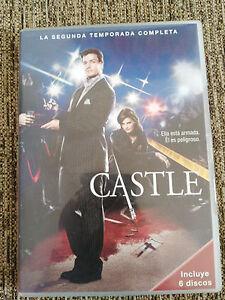 Castle Deuxième Saison 2 Complète - 6 DVD Espagnol English Francais - 5T