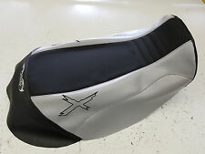 can am can-am renegade 1000 xmr custom mudding  seat  cover BLACK AND LT GRAY